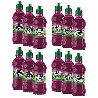 12 x 275ml Robinsons Apple Blackcurrent Real Fruit Shoot Succo Bevanda zucchero GRATIS