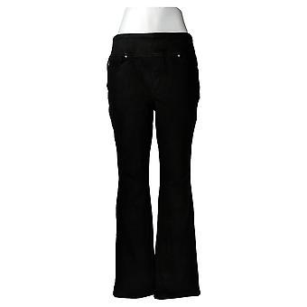 Belle By Kim Gravel Womens Regular Flexibelle Bootcut Jeans Black A311555