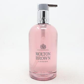 Molton Brown Delicious Rhubarb & Rose Hand Wash  10oz/300ml New