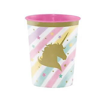 Unicorn Sparkle Herbruikbare Plastic Party Cup