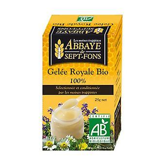 Biologische Royal Jelly niet bevroren 25 g (100%)