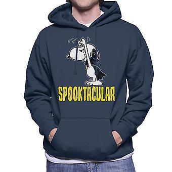Peanuts Spooktacular Halloween Snoopy Men's Hooded Sweatshirt
