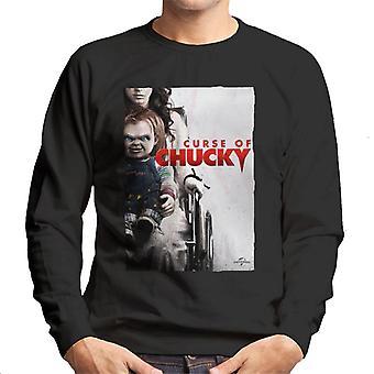 Chucky Curse Of Chucky Poster Men's Sweatshirt