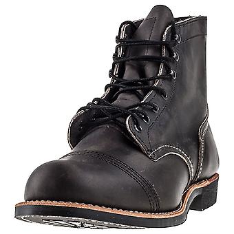 Red Wing Iron Ranger Mens Casual Boots in Houtskool
