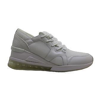 مايكل مايكل كورس المرأة & ق أحذية ليف مدرب الجلود منخفضة أعلى الدانتيل حتى Fashio ...