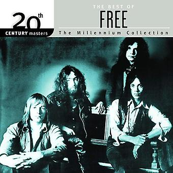 Free - Best of Free-Millennium Collection [CD] USA import