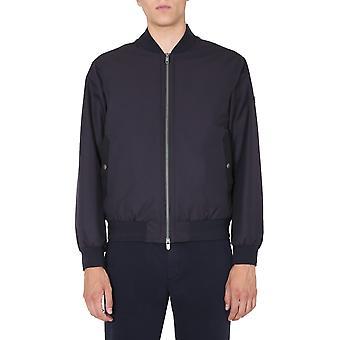Z Zegna Vv031zz026b09 Men's Blue Polyester Outerwear Jacket