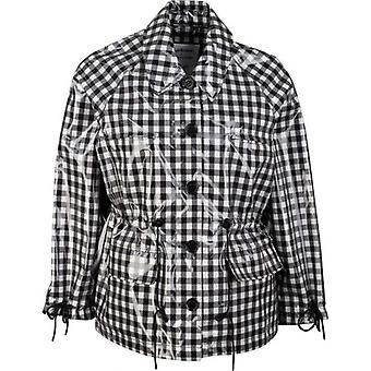 Barbour By Alexa Chung Minnie Casual Checked Rain Mac