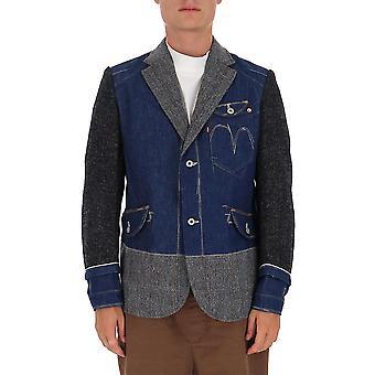 Junya Watanabe J0050511 Blazer en laine bleue