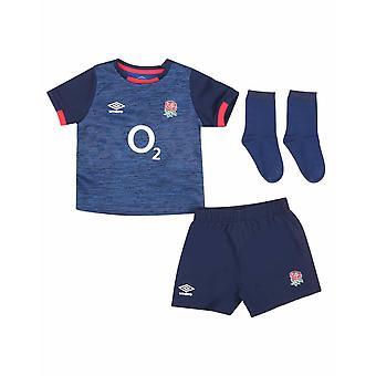 אומברו אנגליה RFU רוגבי ערכת תינוק חלופית | כחול | 2020/21 | 6-12 חודשים