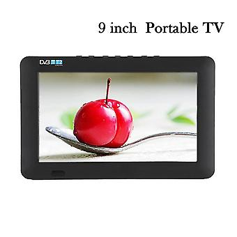 9 Inch Dvb-t-t2 Digital Analog Tv Portabil Eu Plug 110240v