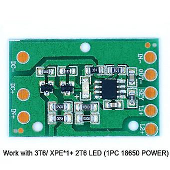 Hz-8812 Led Driving Circuit Board Portable Lighting Drive Plate Accessories (1pcx Drive Board)