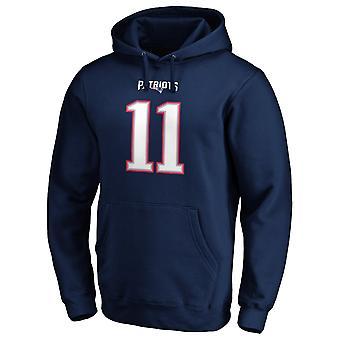 New England Patriotsin NFL-huppari #11 Julian Edelman