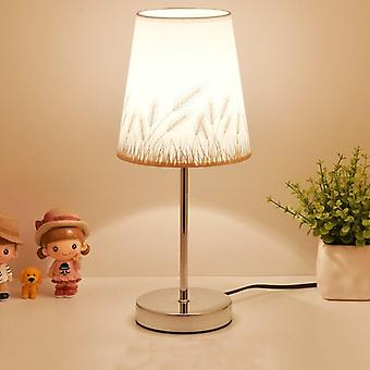 Crystal Table Led, Bedside - Nordic Desk Lamp With E27 & Eu Plug