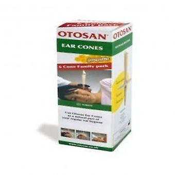 Otosan - Ear Cones Family Pack 3x2 pairspieces