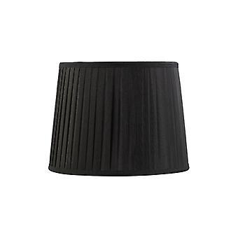 30 Cm Fabric Conical Lampshade Black