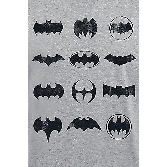 Camiseta de ícones adultos do Batman Unisex