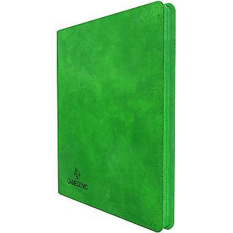 Gamegenic Zip-Up Álbum 24-Pocket - Verde