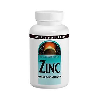 Quelle Naturals Zink Aminosäure Chelat, 100 Tabs