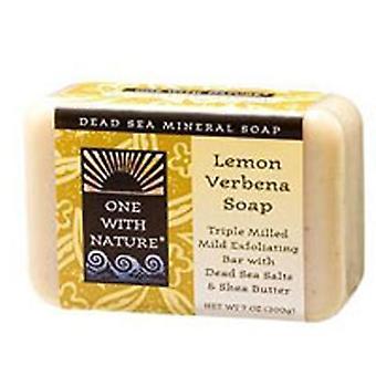 One with Nature Almond Bar Soap, Lemon Verbena, 7 Oz