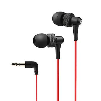 Awei ES-450M Heavy Super Bass Metal Music Headset Wired In-ear Earphone