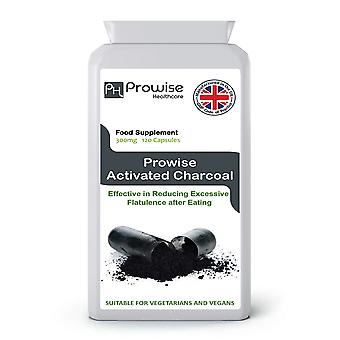 Activate Charcoal 300mg 120 Capsules | Suitable For Vegetarians & Vegans | Made In UK
