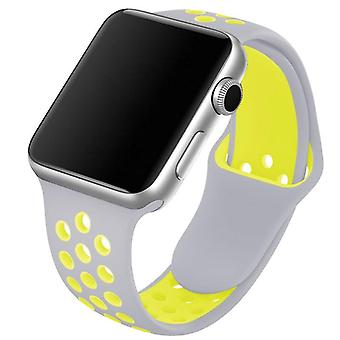 Silicone Wristband, Sports Breathable Bracelet, Suitable For Apple Watch