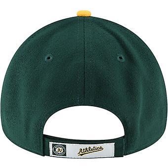 ニューエラ 9フォーティオークランドアスレチックスリーグMLB調整可能野球帽 - グリーン