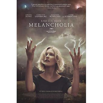 Melancholia film plakatutskrift (27 x 40)