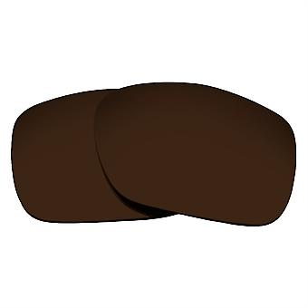 Replacement Lenses for Oakley Twoface Sunglasses Anti-Scratch Dark Brown