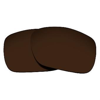 Ersatzlinsen für Oakley Twoface Sonnenbrille Anti-Scratch Dark Brown