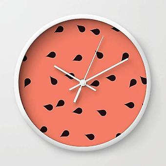 Scattered Watermelon - Wall Clock