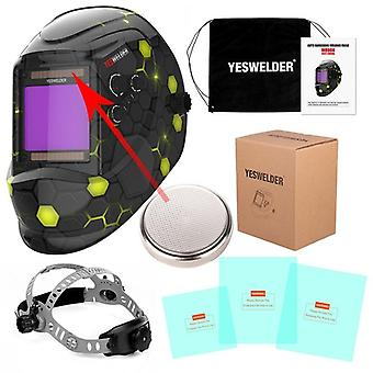 True Color Welding Helmet, Super Large Viewing Screen Mask