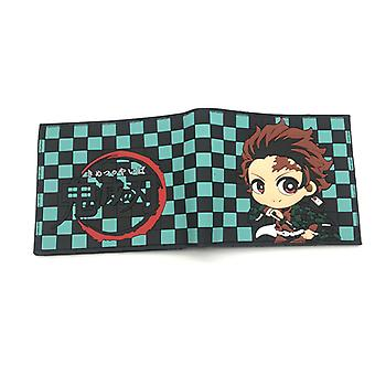 PU leather Coin Purse Cartoon anime wallet - Demon Slayer #813