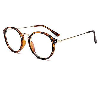 Lunettes Frame Computer Spectacles Round Transparent Female Women's Lunettes