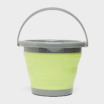 New Hi-Gear Folding Bucket 5L Green