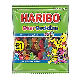HARIBO Bear Buddies Fruit Flavour Sweets, 160g Bag