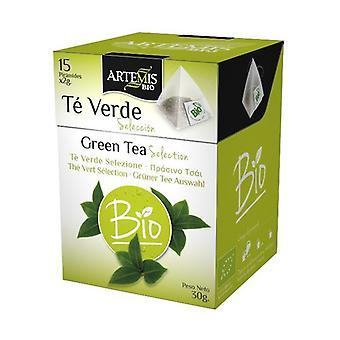 Green Tea Infusion Selection Bio 15 units