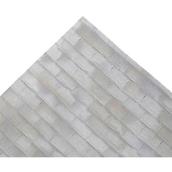Dolls House Aged Country Grey Roof Tile Sheet Miniature Print Exterior Wallpaper