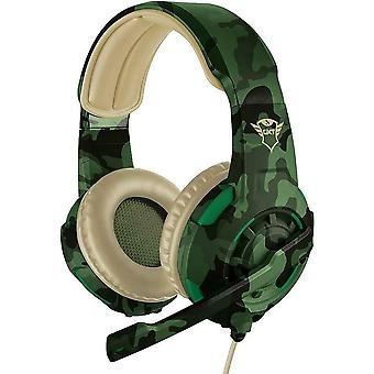 Trust Gaming Headset GXT 310D Radius with Microphone - Jungle 22207