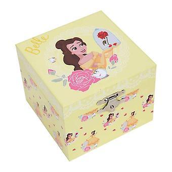 Caixa de Joias Musicais da Princesa Belle Pastel da Disney