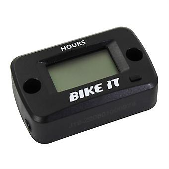 Bike It Digital LCD Wireless Vibration Hour Meter