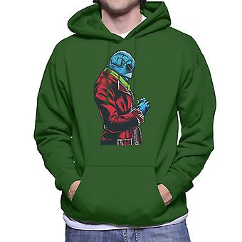 The Invisible Man Red Suit Men's Hooded Sweatshirt
