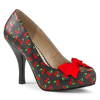 בבקשה נשים&s נעליים ורוד בלק אדום דובדבן מזויף עור