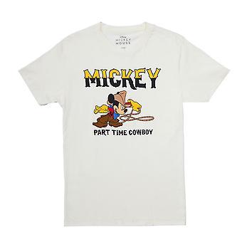 Disney Mickey Mouse Part Time Cowboy T-Shirt