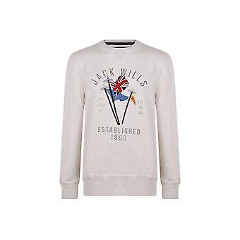 Jack Wills Ellesborough Graphic Sweatshirt