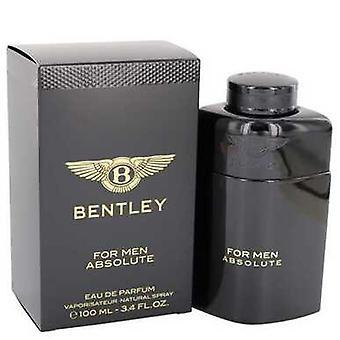 Bentley Absolute By Bentley Eau De Parfum Spray 3.4 Oz (men) V728-540467