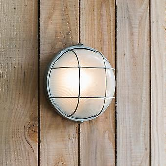 Garden Trading Chatham Outdoor Round Bulk Head Light