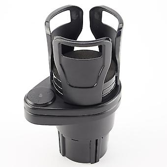 Retractable rotating car water cup holder, easy to install shockproof and stable multifunctional beverage holder