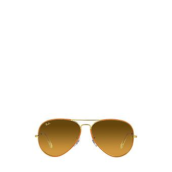 Ray-Ban RB3025JM arancione su legenda oro unisex occhiali da sole